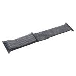Ремешок COTEetCI W17 Magic Tape Band (WH5226-GY-42) для Apple Watch 44 мм Storm Gray - Серый