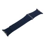 Ремешок кожаный COTEetCI W7 Leather Magnet Band (WH5205-DB) для Apple Watch 38 мм Синий