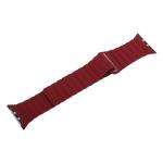 Ремешок кожаный COTEetCI W7 Leather Magnet Band (WH5205-RD) для Apple Watch 38 мм Красный