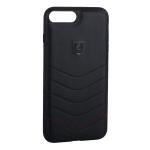 Накладка PULOKA для iPhone 7 Plus PC+TPU волны Черная