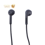Наушники Hoco M39 Rhyme sound Earphones with mic (1.2 м) с микрофоном Black Черные