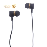 Наушники Hoco M46 Jewel sound universal Earphones with mic (1.2 м) с микрофоном Gold Золотые