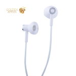 Наушники Hoco M47 Canorous wire control Earphones with mic (1.2 м) с микрофоном White Белые