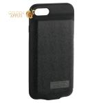 Аккумулятор-чехол внешний Baseus Plaid Backpack Power Bank Case 5000 mAh (ACAPIPH7-LBJO1) для iPhone 8 черный