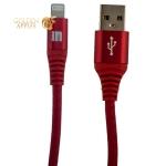 USB дата-кабель Innovation A1I-COBRA Lightning (1.0 м) Красный