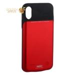 Аккумулятор-чехол внешний Remax Power Bank Case 3200 mAh (PN-04) для iPhone X красный
