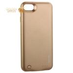 Аккумулятор-чехол внешний Remax Power Bank Case 2400 mAh (PN-01) для iPhone 8 золотой