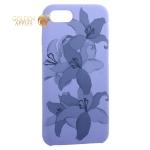 Чехол-накладка силиконовый Silicone Cover для iPhone 8 Орхидея Сиреневый