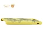 Чехол-накладка силиконовый Silicone Cover для iPhone 7 (4.7) Орхидея Желтый