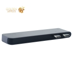 Переходник Baseus Thunderbolt C+ 5в1 (CAHUB-BOG) Type-C to USB3.0x2/ HDMI/ Thunder3/ Type-C для MacBook Графитовый
