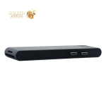 Переходник Baseus Thunderbolt C+Pro 7в1 (CAHUB-LOG) Type-C to USB3.0x2/ HDMI/ Thunder3/ Lan/ SD/ MicroSD для MacBook Графитовый