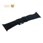 Ремешок кожаный COTEetCI W37 Fashion Leather (WH5263-BK) для Apple Watch 44 мм Черный