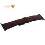 Ремешок кожаный COTEetCI W37 Fashion Leather (WH5263-BR) для Apple Watch 44 мм Коричневый