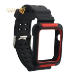 Ремешок COTEetCI W39 Integrated Movement Band (WH5268-BR) для Apple Watch 44 мм Черно-Красный