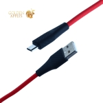 USB дата-кабель Hoco X32 Excellent charging data cable for MicroUSB (1.0 м) Красный