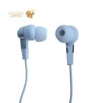 Наушники Hoco M52 Amazing rhyme universal wired Earphones with mic (1.2 м) с микрофоном Белые