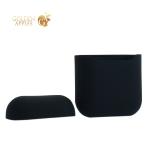 Чехол силиконовый для AirPods Case Protection ультратонкий Черный