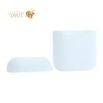 Чехол силиконовый для AirPods Case Protection ультратонкий Белый