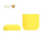 Чехол силиконовый для AirPods Case Protection ультратонкий Желтый