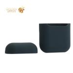 Чехол силиконовый для AirPods Case Protection ультратонкий Коричневый