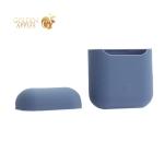 Чехол силиконовый для AirPods Case Protection ультратонкий Платиново-серый