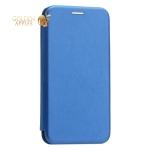 Чехол-книжка кожаный Innovation Case для iPhone XS Синий