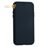 Чехол закаленное стекло с магнитной рамкой Baseus Magnetite Hardware (WIAPIPH58-CS01) для iPhone XS Черный