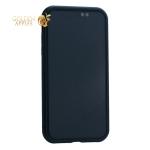Чехол закаленное стекло с магнитной рамкой Baseus Magnetite Hardware (WIAPIPH61-CS01) для iPhone XR  Черный
