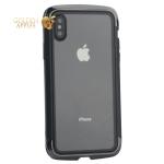 Чехол-накладка Element Case (AERO - DRAGO) закаленное стекло для iPhone X (5.8) Черный