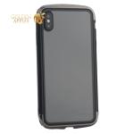 Чехол-накладка Element Case (AERO - DRAGO) закаленное стекло для iPhone XS Max (6.5) Черный