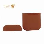 Чехол силиконовый для AirPods 2 Case Protection ультратонкий Оранжевый