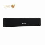 Портативная Bluetooth V5.0 колонка Remax RB-M33 Fabric Series Wireless Speaker Черная