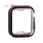 Чехол силиконовый TPU & защита экрана 360° COTEetCI для Apple Watch Series 5/ 4 (CS7059-BK) 40 мм Черный