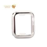 Чехол силиконовый TPU & защита экрана 360° COTEetCI для Apple Watch Series 5/ 4 (CS7059-TS) 40 мм Серебристый