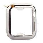 Чехол силиконовый TPU & защита экрана 360° COTEetCI для Apple Watch Series 5/ 4 (CS7060-TS) 44 мм Серебристый
