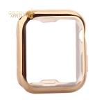Чехол силиконовый TPU & защита экрана 360° COTEetCI для Apple Watch Series 5/ 4 (CS7060-GD) 44 мм Золотистый