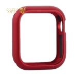 Чехол алюминиевый бампер COTEetCI магнитная рамка для Apple Watch Series 5/ 4 (CS7057-RD) 40 мм Красный