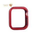 Чехол алюминиевый бампер COTEetCI магнитная рамка для Apple Watch Series 5/ 4 (CS7058-RD) 44 мм Красный