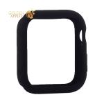 Чехол силиконовый бампер COTEetCI Liquid Silicone Case для Apple Watch Series 5/ 4 (CS7067-BK) 40 мм Черный