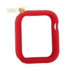 Чехол силиконовый бампер COTEetCI Liquid Silicone Case для Apple Watch Series 5/ 4 (CS7067-RD) 40 мм Красный