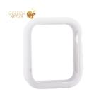 Чехол силиконовый бампер COTEetCI Liquid Silicone Case для Apple Watch Series 5/ 4 (CS7067-WH) 40 мм Белый