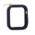 Чехол силиконовый бампер COTEetCI Liquid Silicone Case для Apple Watch Series 5/ 4 (CS7067-BL) 40 мм Темно-синий