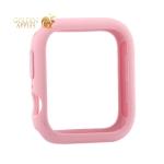 Чехол силиконовый бампер COTEetCI Liquid Silicone Case для Apple Watch Series 5/ 4 (CS7067-LP) 40 мм Розовый