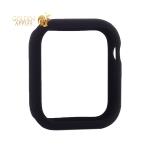 Чехол силиконовый бампер COTEetCI Liquid Silicone Case для Apple Watch Series 5/ 4 (CS7068-BK) 44 мм Черный