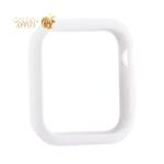 Чехол силиконовый бампер COTEetCI Liquid Silicone Case для Apple Watch Series 5/ 4 (CS7068-WH) 44 мм Белый
