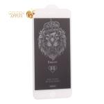 Стекло защитное Remax 9D GL-35 Emperor Series Антишпион Твердость 9H для iPhone 8 Plus/ 7 Plus (5.5) 0.22mm White