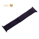 Ремешок COTEetCI W17 Magic Tape Band (WH5226-DL-44) для Apple Watch 44 мм/ 42 мм Indigo Blue Темно-синий