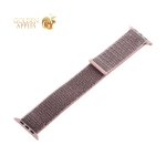 Ремешок COTEetCI W17 Magic Tape Band (WH5226-FS-44) для Apple Watch 44 мм/ 42 мм Powder Sand Розовый песок