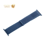 Ремешок COTEetCI W17 Magic Tape Band (WH5225-HL-40) для Apple Watch 40 мм/ 38 мм Cape Blue Голубой