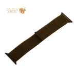 Ремешок COTEetCI W17 Magic Tape Band (WH5226-GLL-44) для Apple Watch 44 мм/ 42 мм Olive Green Оливковый